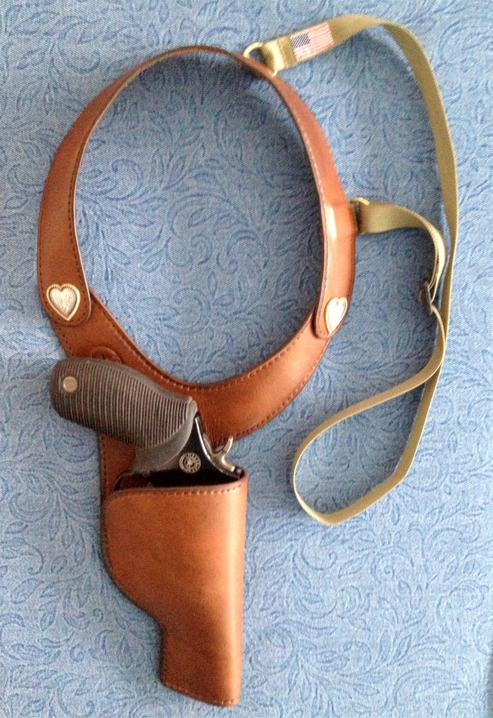 J R  Roscoe Handmade Leather Shoulder Holsters