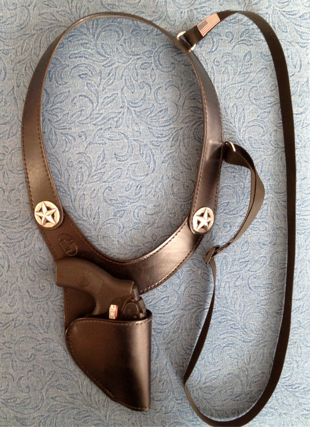 How to Make a Shoulder Holster (with Pictures) - wikiHow